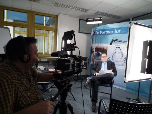 Rechtsnwalt Marc Hessling im Interview bei WEKA MEDIA in Kissing im November 2013