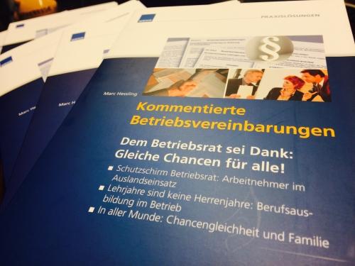 Hessling, Kommentierte Betriebsvereinbarungen
